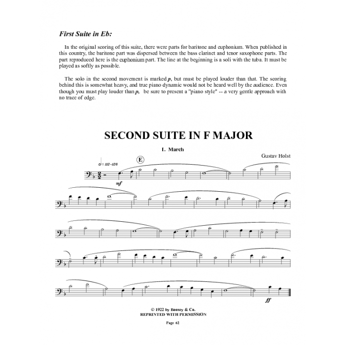 Shipped - Euphonium Excerpts from the Standard Band and Orchestral Library