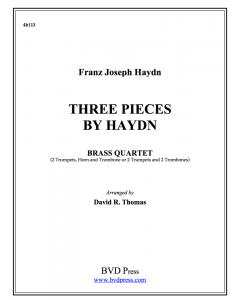 Three Pieces by Haydn