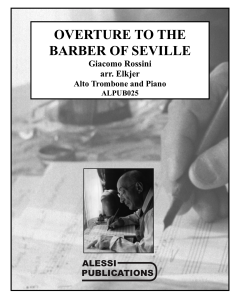 Shipped - Overture to the Barber of Seville