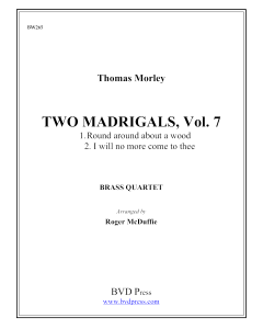 2 Madrigals, Vol. 7