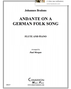 Andante on a German Folk Song