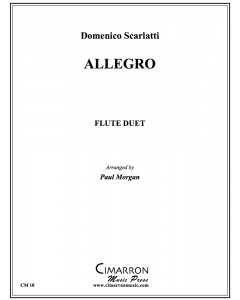Allegro for Two Flutes