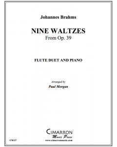 Nine Waltzes from Opus 39