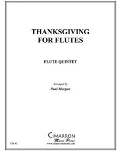 Thanksgiving for Flutes