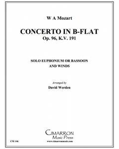 Concerto in Bb, Op. 96 K. 191 (Mvt. 1)