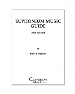 Euphonium Music Guide