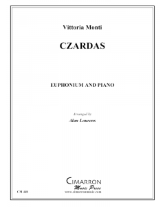 Czardas for euphonium and piano