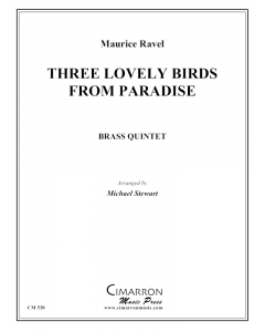 Three Lovely Birds from Paradise