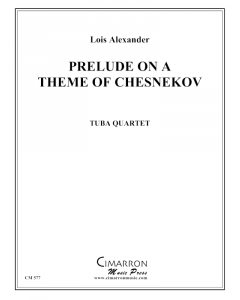 Prelude on theme of Chesnokov