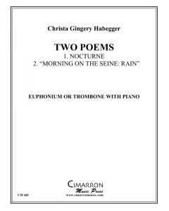 Two Poems for Low Brass
