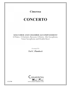 Concerto for Oboe and woodwinds - Cimerosa