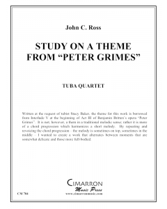 Study on a theme from Peter Grimes