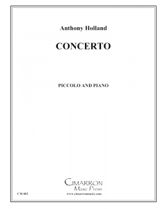 Holland - Concerto for Piccolo and piano