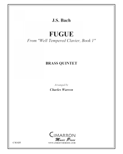 Fugue from the WTC Book #1