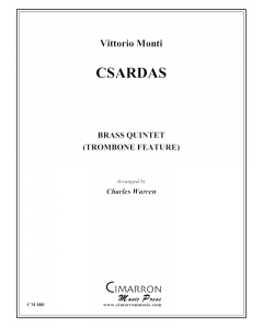 Czardas for brass quintet