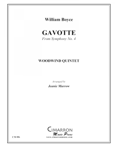 Gavotte from Symphony #4