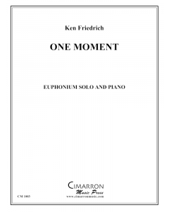 One Moment (for my wife)