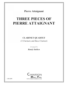 Three Pieces of Pierre Attaignant
