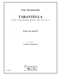 Tarantella, from Song Without Words, Op 182. No. 3