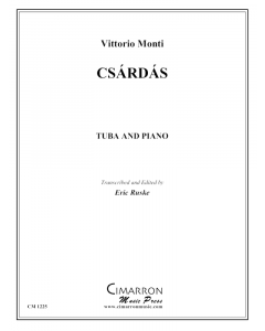 Czardas for tuba and piano