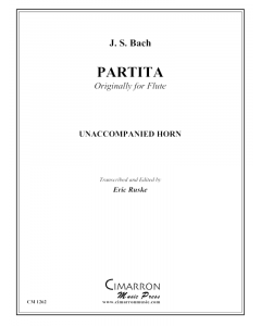 Partita in A minor, BMV 1013