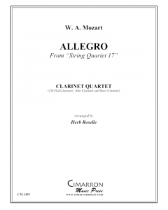 Allegro from String Quartet 17