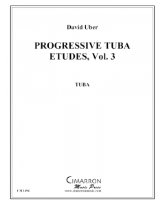Progressive Etudes for Tuba, Vol. 3