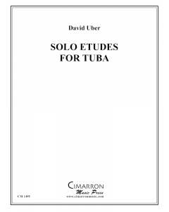 Solo Etudes for Tuba