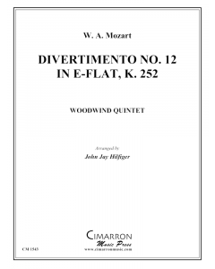 Divertimento No. 12 in Eb, K. 252