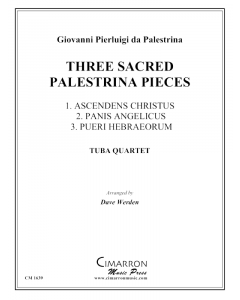 Three Sacred Palestrina Pieces
