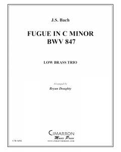Fugue in c minor, BWV 847