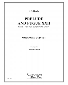 Prelude and Fugue XXII