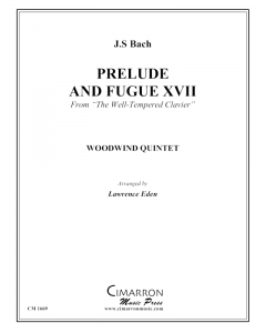 Prelude and Fugue XVII