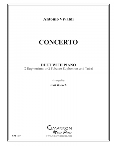 Vivaldi - Concerto for two instruments (two tubas and piano)