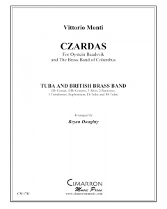Czardas for tuba and brass band