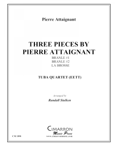 Three Pieces by Pierre Attaignant