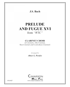 Prelude and Fugue XVI