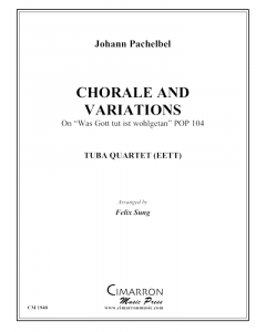Chorale and Variations for tuba quartet