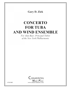 Concerto for Tuba and Wind Ensemble