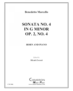 Sonata No. 4 in g minor Op. 2, No. 4
