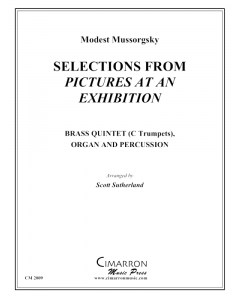 "Selections from ""Pictures at an Exhibition"""
