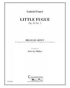 Little Fugue Op. 84 No. 3