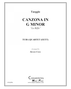 Canzona in g minor