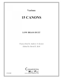 15 Canons