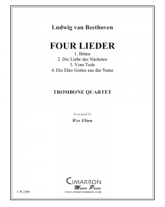 Four Beethoven Lieder