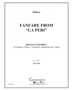 "Fanfare from ""La Peri"""