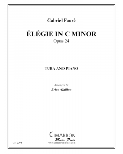 Élégie in c minor