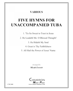 Five Hymns for Unaccompanied Tuba
