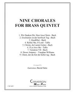 Nine Pieces for Brass Quintet