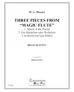 "Three Pieces from ""The Magic Flute"""